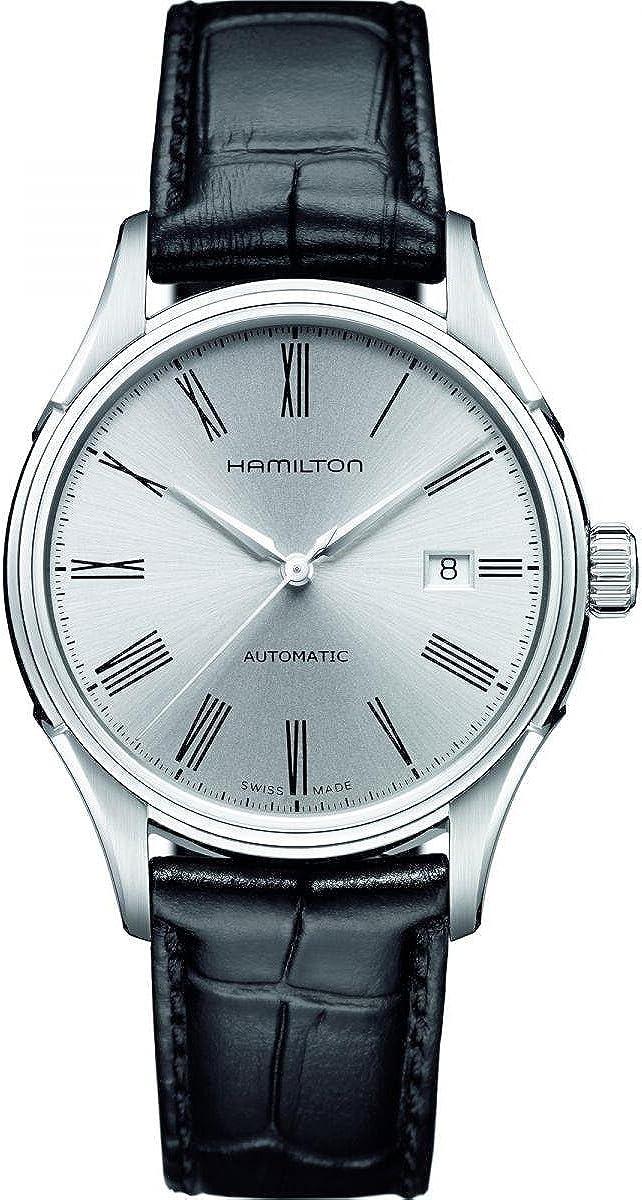 Hamilton Men s H39515754 Valiant Analog Display Automatic Self Wind Black Watch