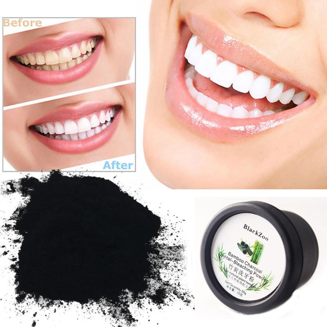 Amazon.com: LtrottedJ - Polvo blanqueador de dientes de ...
