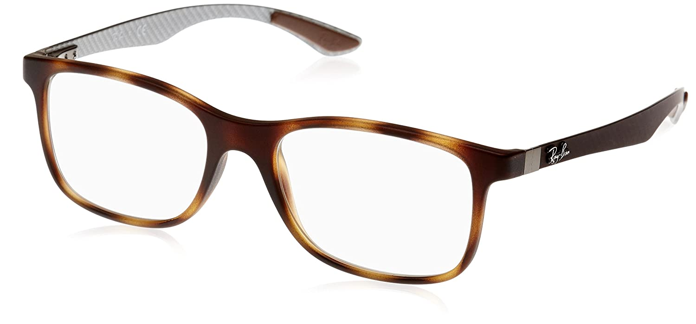 22ae86dd07 Amazon.com  Ray-Ban Men s 0rx8903 0RX8903 No Polarization Square Eyeglasses