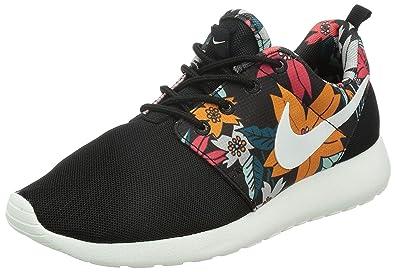Nike Women's Roshe Run Floral Pack Black Sail
