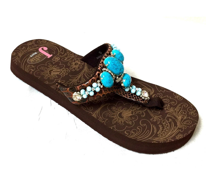 f3721f9ca8e7 Justin Boots KYLA Flip-Flop Sandals 5511702-05  9Napu1604999  -  26.99