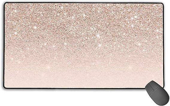 tapis de souris d ordinateur rose gold