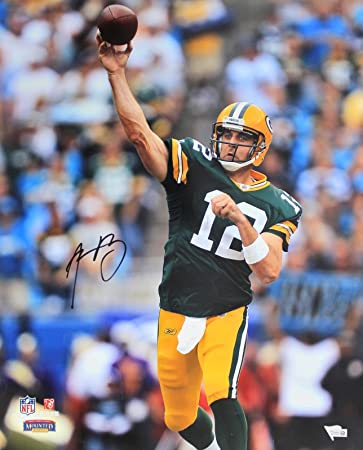 Signed Aaron Rodgers Picture - 16x20 Fanatics COA  A330929 - Fanatics  Authentic Certified - Autographed 6cd1a4372