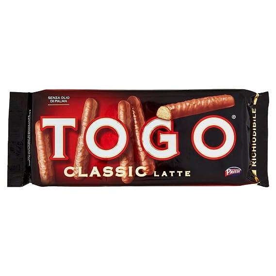 Pavesi Snack Togo Classic al Latte, 120 gr Amazon.it Alimentari e cura  della casa