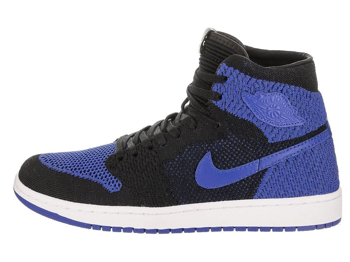 Nike Air Jordan 1 Retro Hi Flyknit, Chaussures de Basketball Homme