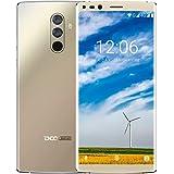 Smartphone 4G Offerta, DOOGEE MIX 2 Cellulari Dual SIM Android 7.0 Telefonia Mobile, 5.99 Pollici 18:9 FHD+, 6GB RAM 64GB ROM, Processore Octa Core, Fotocamera Posteriore da 16 + 13 MP, Impronta Digitale - Oro
