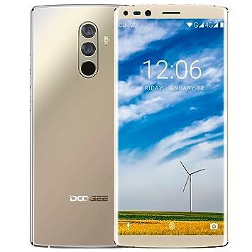 Smartphone Libre, DOOGEE Mix 2 Moviles Baratos 4G Dual SIM, Pantalla de 5.99 Pulgadas 18:9 FHD+, 6GB RAM 64 GB ROM, Helio P25 Octa Core Android 7.1, ...