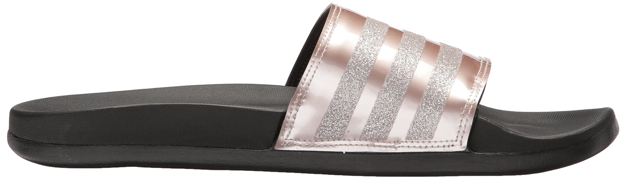 adidas Performance Women's Adilette CF+ Explorer W Sport Sandal, Vapour Grey Met, Vapour Grey Met.Fabric, Core Black, 9 M US by adidas (Image #7)