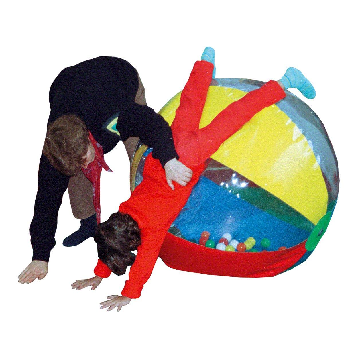 Therapieball aufblasbarer Spiel Ball Spielzeug gefüllt mit Bällen, 100 cm