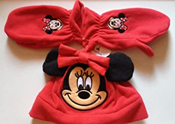 ee6b6bd5 Amazon.com : Minnie Mouse Walt Disney Parks Hat and Mitten / Glove Set  Toddler : Baby