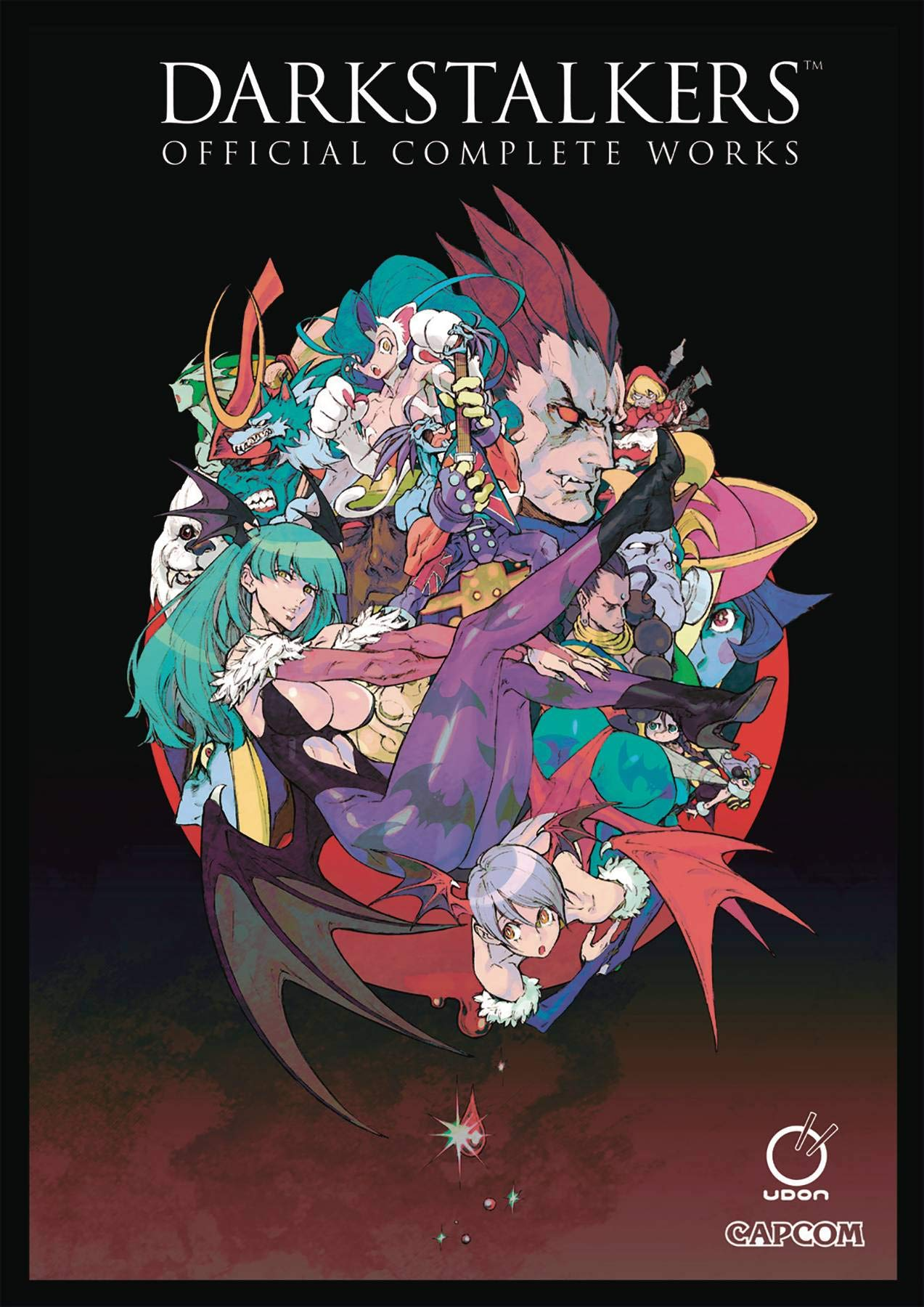 Darkstalkers: Official Complete Works Hardcover by Udon Entertainment