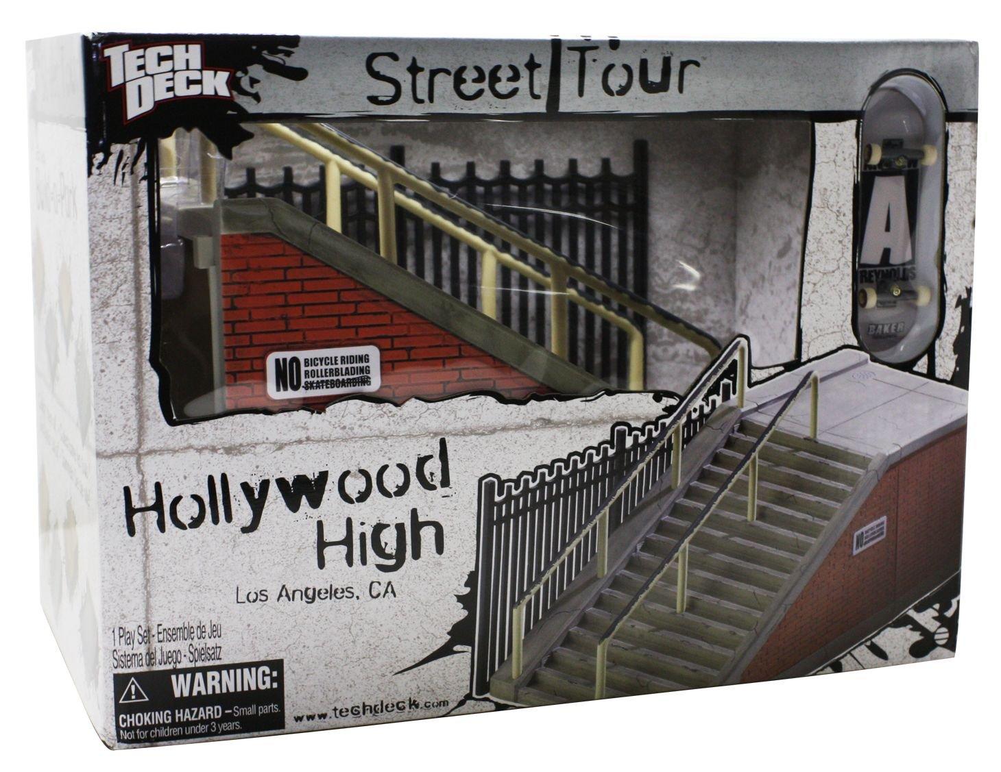 Tech Deck  Street Tour - Replica Hollywood High