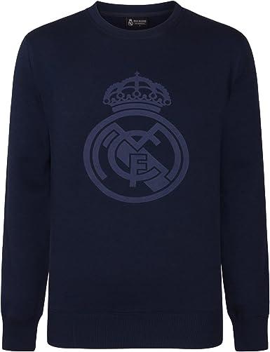 Real Madrid - Sudadera Oficial para Hombre - con el Escudo del ...