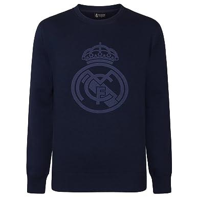 Real Madrid - Sudadera Oficial para Hombre - con el Escudo del Club: Amazon.es: Ropa y accesorios