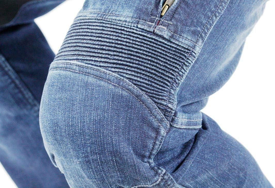 Pantalones vaqueros para motorista Trilobite 661 Parado Slim