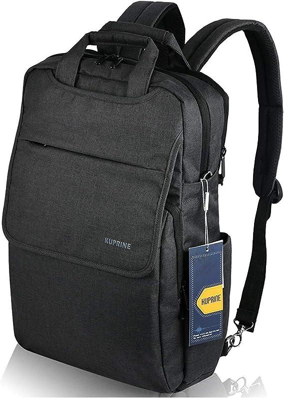 KUPRINE 15.6 inch Slim Lightweight Business Laptop Backpacks for Women Men's Work Laptop Travel Bag Anti Theft Water Resistant Notebook Computer Backpack for College students