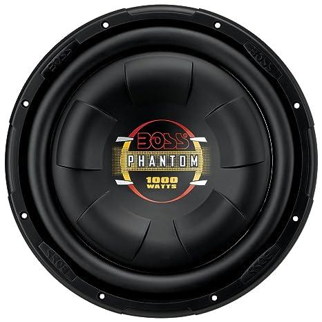 amazon com boss audio d12f 1000 watt 12 inch single 4 ohm voice rh amazon com