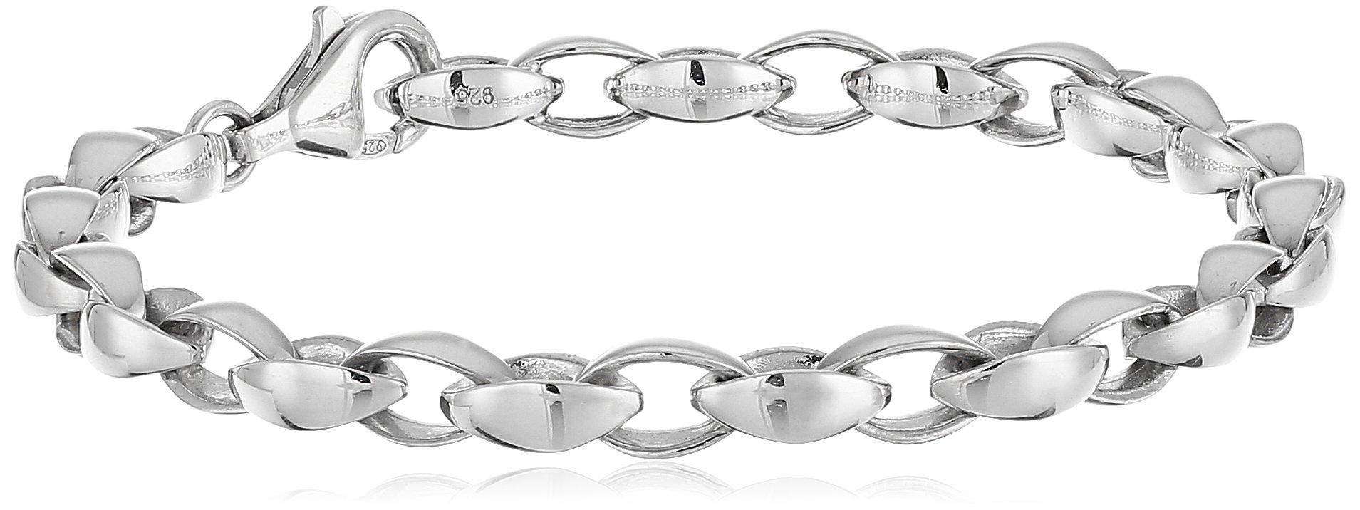Zina Sterling Silver Silken Link Bracelet, 7.25''