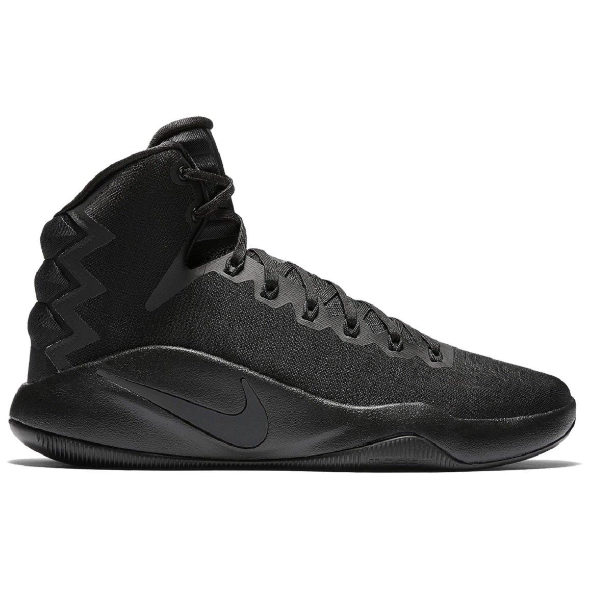 Nike Mens Hyperdunk 2016 Shoes Black/Anthracite/Volt Size 11.5