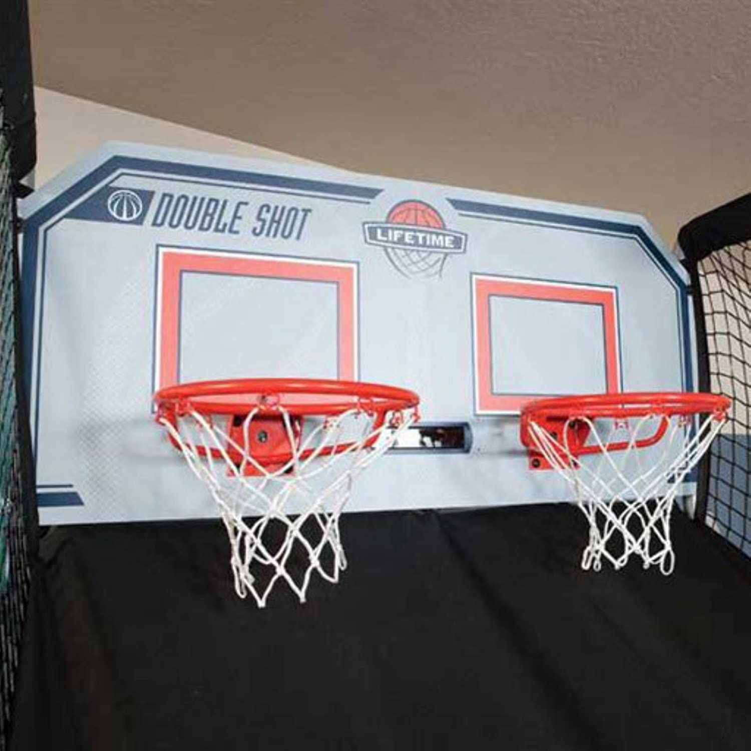 Lifetime Basketball Double Shot Arcade System Sports Diagram Pictures 2 How To Draw A Hoop Step 4 Outdoors