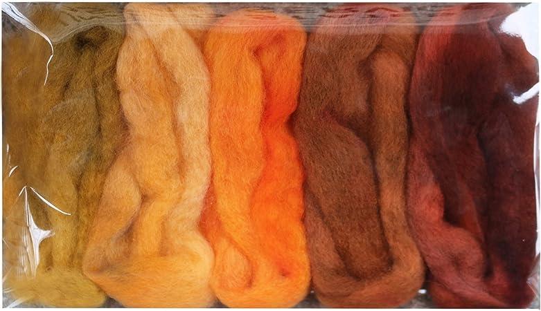 Customized Fiber Sampler YOU CHOOSE 6 Samples DIY Craft Supplies Weaving Felt Wet Felting Needle Felting Wool Roving Assortment