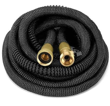100 foot garden hose. Garden Hose HEAVY DUTY Flexible {Improved Design} 100\u0027 Feet Expandable Set 100 Foot