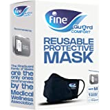 Fine Guard Comfort Adult Face Mask with virus-killing Livinguard Technology, – Size Medium
