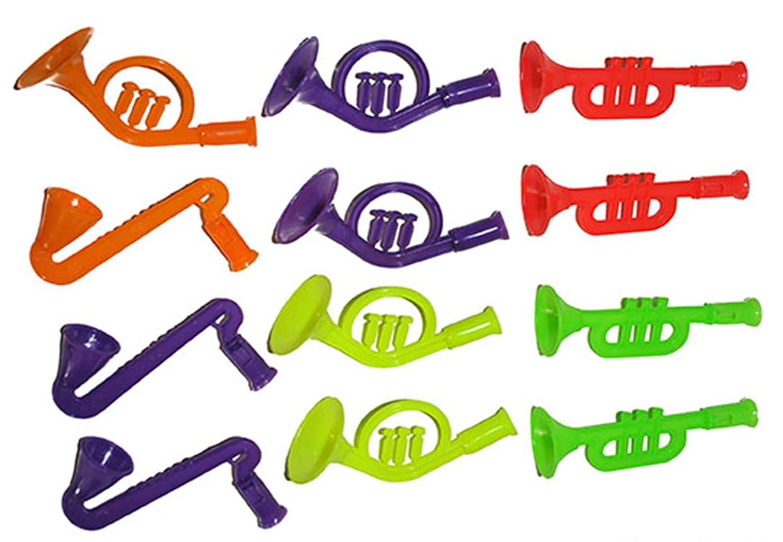 studio four Piñata Befüllung Lot DE 12 Instruments de Musique Multicolore 10 cm