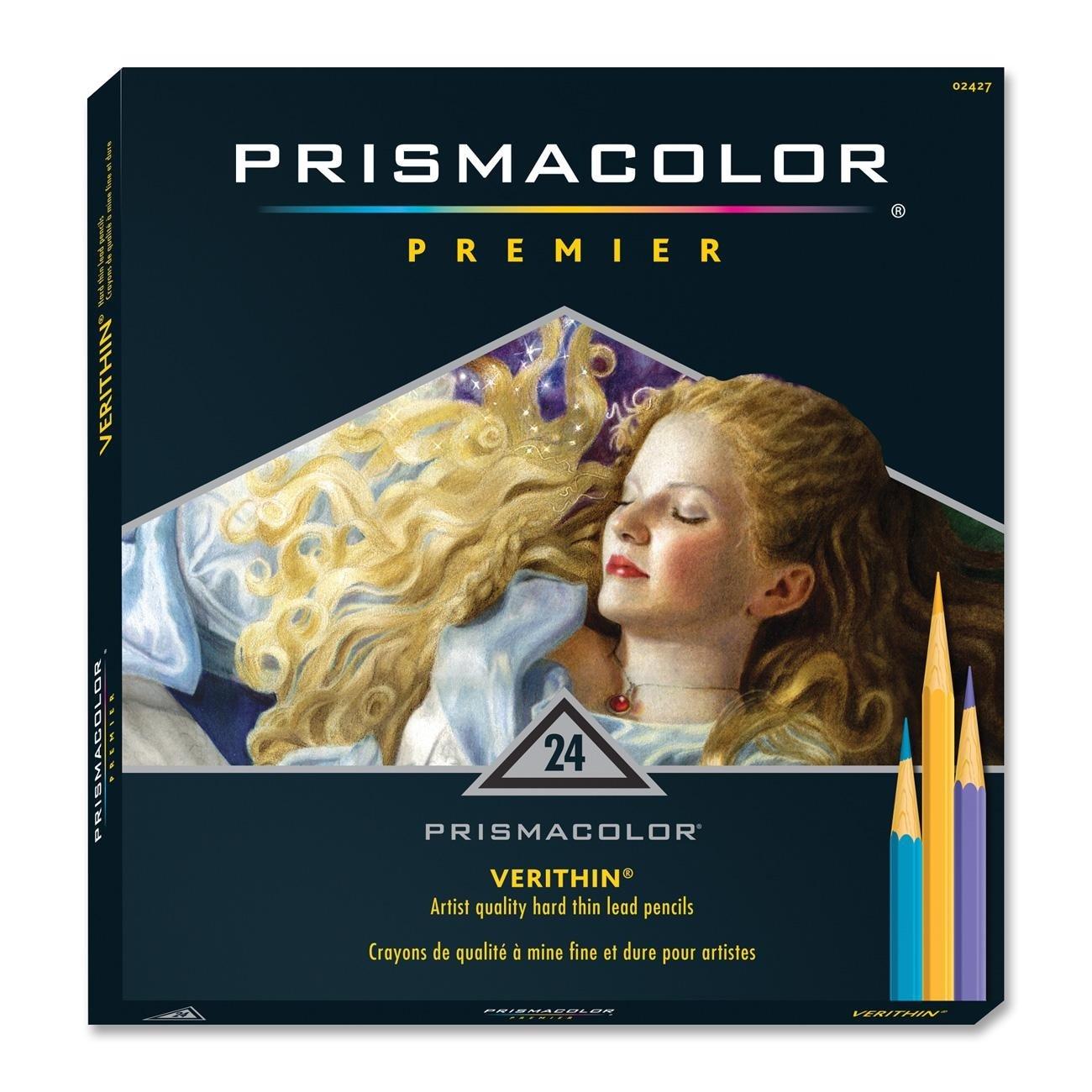 Prismacolor サンフォード プリズマカラー Verithin® 色鉛筆 アソートカラー(2476) (12色入り2パック) B01MA0DU9T