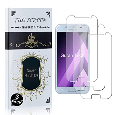 Bear Village Screen Protector for Galaxy A7 2020, Anti Scratch Bubble Free, 9H Hardness HD Tempered Glass Screen Protector Film for Samsung Galaxy A7 2020, 3 Pack: Baby