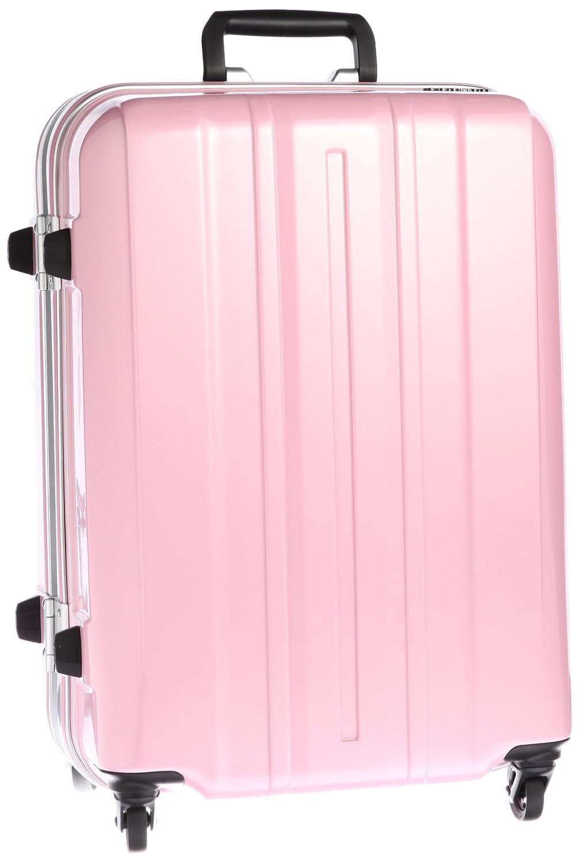 [サンコー] SUPER LIGHTS-MG EX  スーツケース スーパーライト 軽量  中型 容量57L 縦サイズ62cm 重量3.5kg SMGE-57  パールピンク B00DIS7ZPY