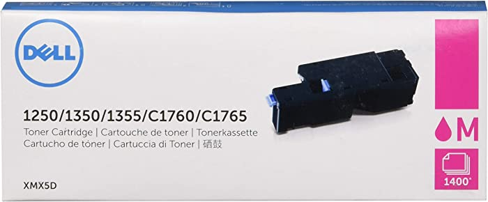 Dell XMX5D 1250 1350 1355 1355 C1760 C1765 Toner Cartridge in Retail Packaging