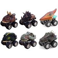 6 Pack ZHMY Dinosaur 2.8in Cars