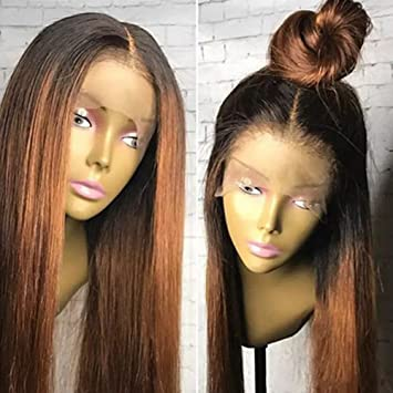 Amazon Com Brazilian Lace Front Wigs Ombre Human Hair Ombre 1b 30