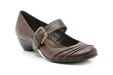 32b8022398 Clarks Womens Casual Clarks Egypt Mist Leather Shoes In Brown ...