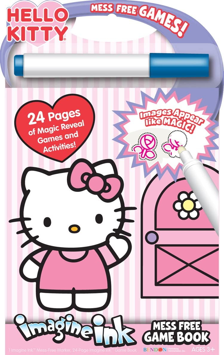 Bendon Hello Kitty Mess-Free Game Book
