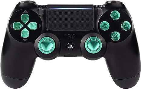 Verde Botones de Controlador de Recambio para Sony PS4