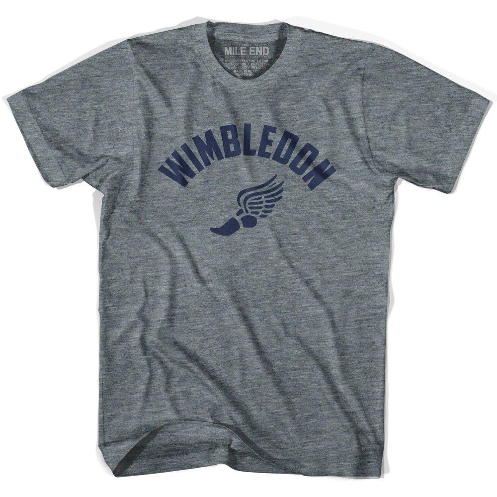 Wimbledon Track T-shirt XX-Large Athletic Grey