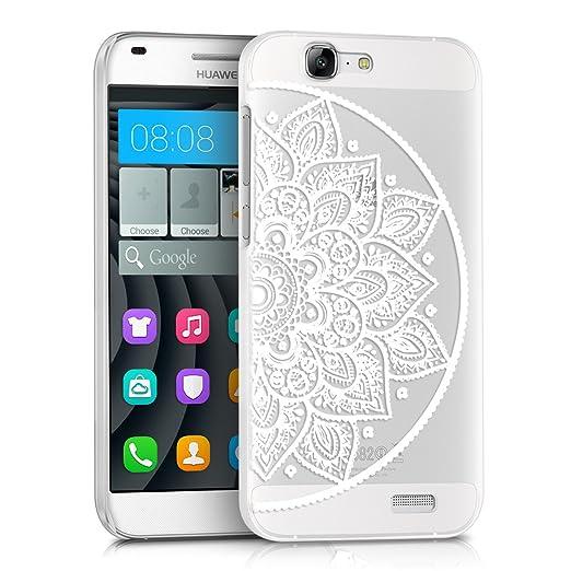 117 opinioni per kwmobile Cover per Huawei Ascend G7- Custodia trasparente per cellulare- Back