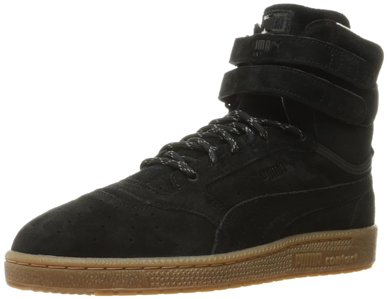 PUMA Men's Sky II HI Winterised Basketball Shoe B01C7WCXOO 10 D(M) US Puma Black