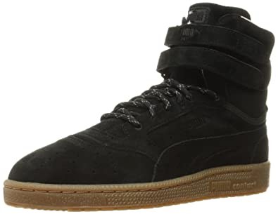 d14afb84307e PUMA Men s Sky II Hi Winterised Puma Black Sneaker 5 D ...