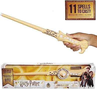 Jakks Pacific Harry Potter Varita Mágica Con Hechizos Voldemort Color Lord Talla única 39837 Color Modelo Surtido Amazon Es Juguetes Y Juegos
