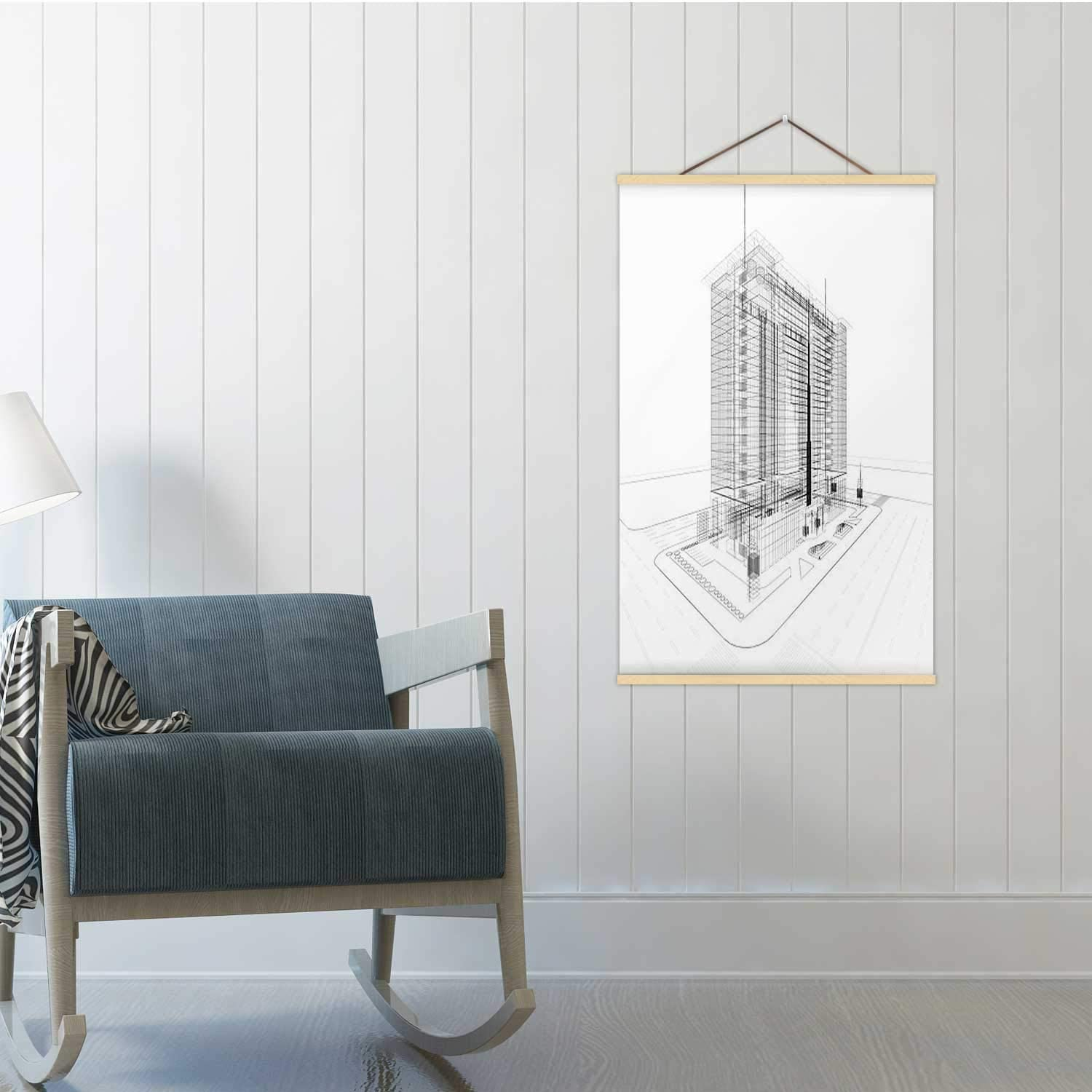 Amazon Com 3d Architecture Abstract Construction Industry Poster Frames Building Exterior Poster 19x29in Wxh Posters Prints