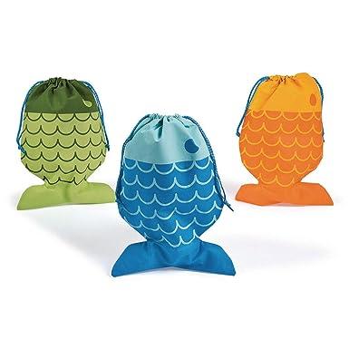 Amazon.com: Little Pescador bolsas de cordón – 12 pieza by ...