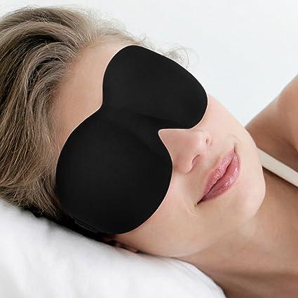 Antifaz Para Dormir, Dafunna 3D Máscara de Ojos Anti-luz mejor que la seda