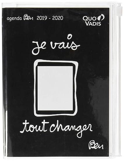 Quo Vadis Ben Textagenda - Agenda escolar diaria (12 x 17 cm ...