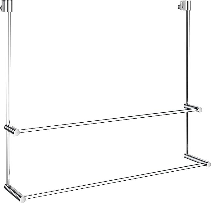 Smedbo Sideline – Toallero doble para cristal ducha pared dk3102 ...