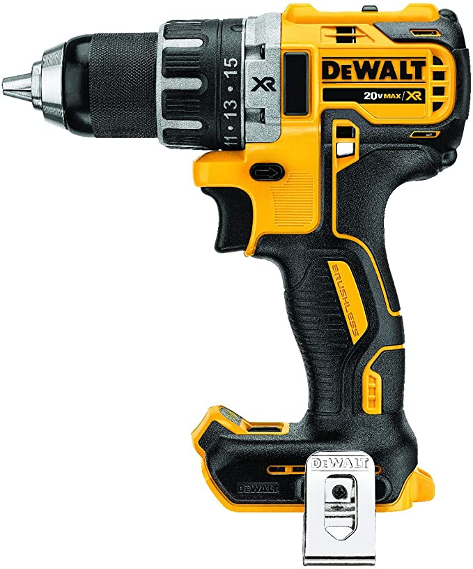 Amazon Com Dewalt 20v Max Xr Brushless Drill Driver Compact Bare Tool Dcd791b Home Improvement