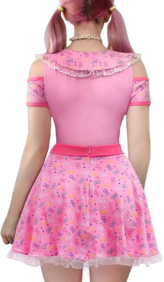 Amcool-baby Kleidung Set,M/ädchen Strampler R/üschen Plissee Solid Color Tops+Floral Gedruckt Strap Rock Outfit Set 2 St/ücke(0.5-3Jahre )