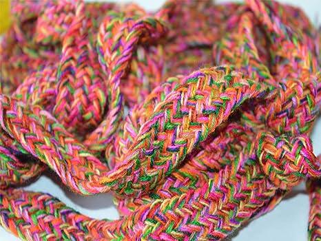 Cinta de lana trenzada de 9 yardas para cinturón, decorativa ...